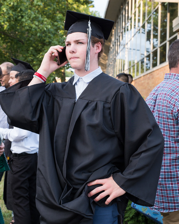 . Graduate Cameron Wyka. Photo by Debbie Malyn for the Press & Guide.