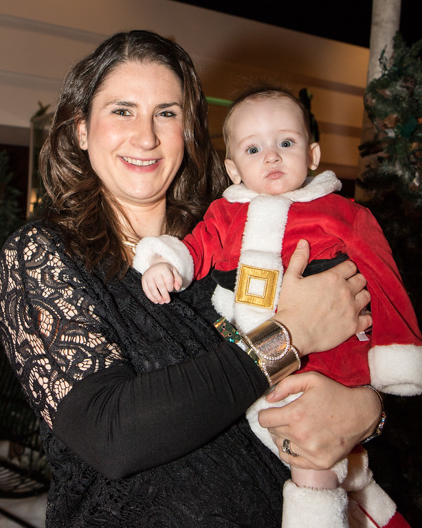 . Larissa Schultz and her son Joey Schultz IV. Photo by Debbie Malyn for the Press & Guide.