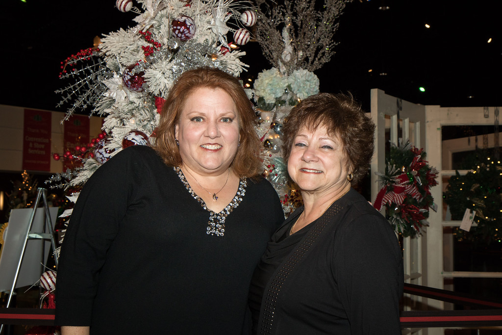 . Laura and Betty Polidori. Photo by Debbie Malyn for the Press & Guide.