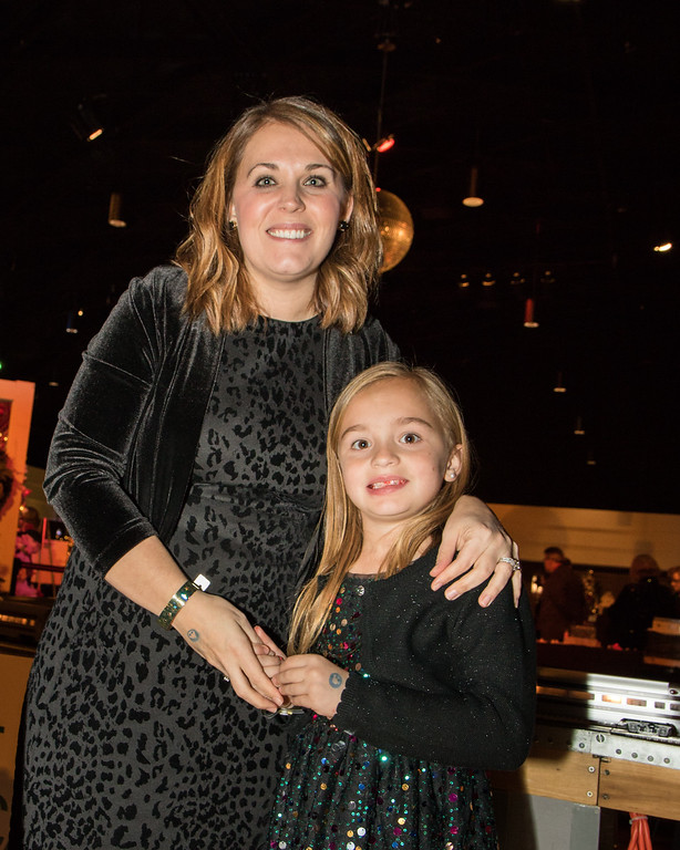 . Shauna Henler and daughter Izzy, age 7. Photo by Debbie Malyn for the Press & Guide.