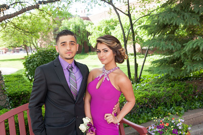 Ahmad Saleh and Tala Bazzi were the first to arrive to Fordson's 2016 prom. Fordson High School held their 2016 prom at The Dearborn Inn on Friday, June 3. Photos by Matt Thompson, Copyright 2016 Press & Guide