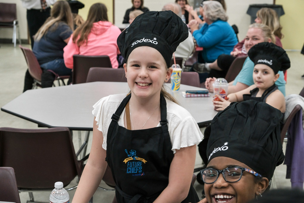 . 11 future chefs faced off at O.W. Best Middle School, but only one will walk away with the coveted white apron. Matt Thompson - For The Press & Guide