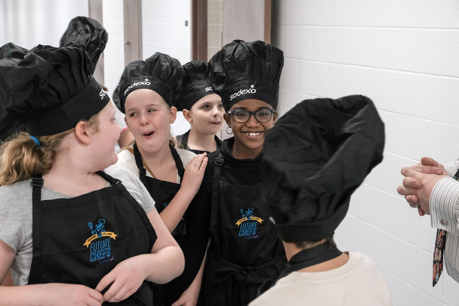 11 future chefs faced off at O.W. Best Middle School, but only one will walk away with the coveted white apron. Matt Thompson - For The Press & Guide
