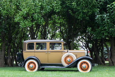 The 66th Annual Old Car Festival took place at Greenfield Village on September 10 - 11, 2016. The country's longest-running antique car show honored the centennial of the National Park Service by highlighting the role of the automobile in the evolution of parks. Photo by Debbie Malyn for the Press & Guide.
