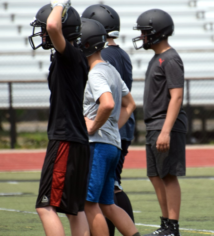 . Edsel Ford hit the field on Monday for the first official day of high school football practice in Michigan. The Thunderbirds head into the new season with a new coach at the helm and as members of a new conference. Frank Wladyslawski - Digital First Media
