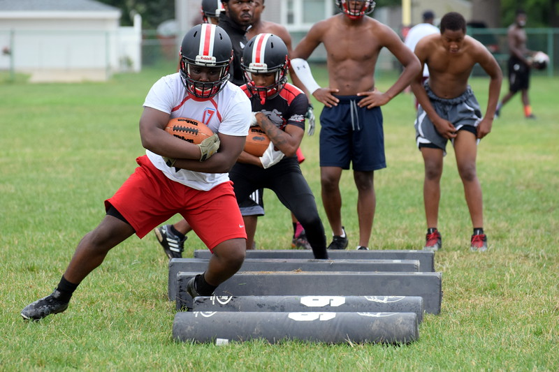 Robichaud kicked off the 2018 season with an evening practice on Monday. Frank Wladyslawski - Digital First Media