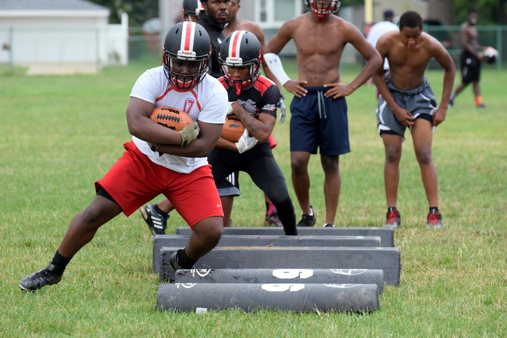 . Robichaud kicked off the 2018 season with an evening practice on Monday. Frank Wladyslawski - Digital First Media