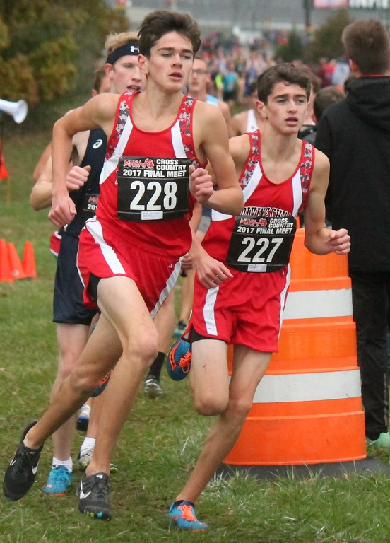 . The 2017 MHSAA cross country state finals were held on Nov. 4 at Michigan International Speedway in Brooklyn. Photo by Terry Jacoby - For The News-Herald