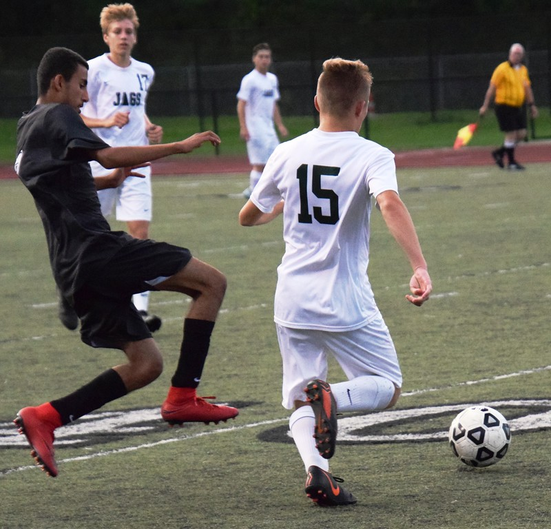 . Allen Park and host Edsel Ford played to a 1-1 tie on Wednesday night in a Downriver League battle. Alex Muller - For Digital First Media