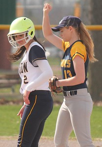 Annapolis traveled to Fordson on Wednesday afternoon and came away with a 27-2 victory in what was a three-inning mercy.  Photo by Terry Jacoby - For The Press & Guide