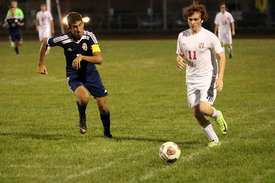 Crestwood welcomed in Livonia Clarenceville on Monday night and held on for a 2-1 victory. Ryan Dickey - For Digital First Media