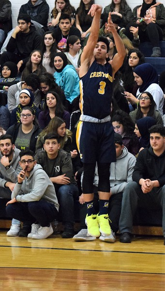 HS Sports - Crestwood at Fordson Boys' Basketball