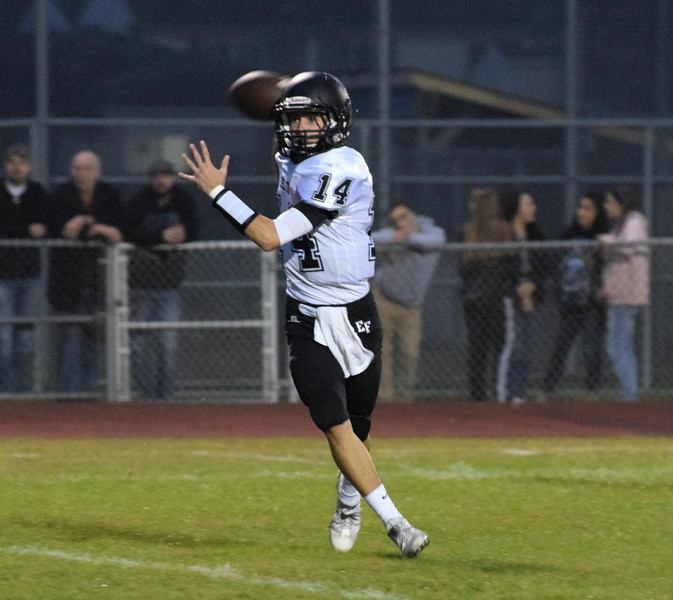 Edsel Ford headed to Crestwood on Friday night and defeated the Chargers 34-13. The Thunderbirds improved to 5-2 for the season. Photo by Frank Wladyslawski - Press & Guide