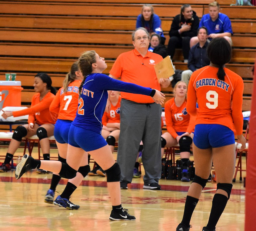 . Dearborn High defeated Garden City 3-0 on Wednesday night in the Class A, District 28 semifinals.  The Pioneers will face host Livonia Churchill on Friday for the championship. Photo by Alex Muller - For the Press & Guide