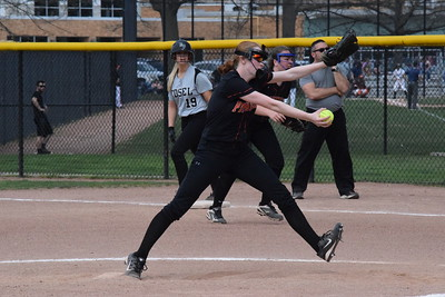 HS Sports - Dearborn at Edsel Ford Softball