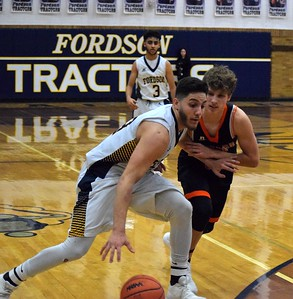 Fordson welcomed in Dearborn High on Tuesday night and defeated the Pioneers by a score of 53-25. Photo by Alex Muller - For the Press & Guide