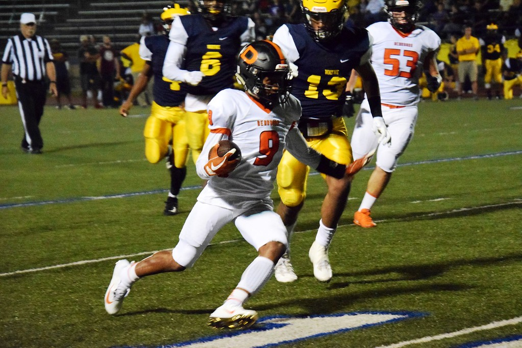 . Dearborn High headed to Wayne Memorial on Friday night and defeated the Zebras by a score of 52-6. Alex Muller - For Digital First Media