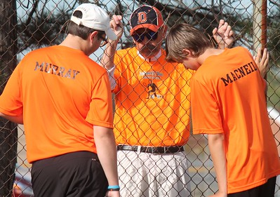 Dearborn High headed to Crestwood on Monday afternoon and defeated the Chargers 5-3. Photo by Terry Jacoby - For the Press & Guide