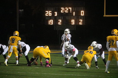 Fordson welcomed in Detroit Western International for the first round of the playoffs. The Tractors went on to a 33-8 victory. Photo by Ryan Dickey - For the Press & Guide