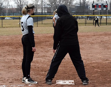 Divine Child traveled to Edsel Ford on Wednesday afternoon and defeated the Thunderbirds by a score of 5-4 in 10 innings. Photo by Alex Muller - For The Press & Guide