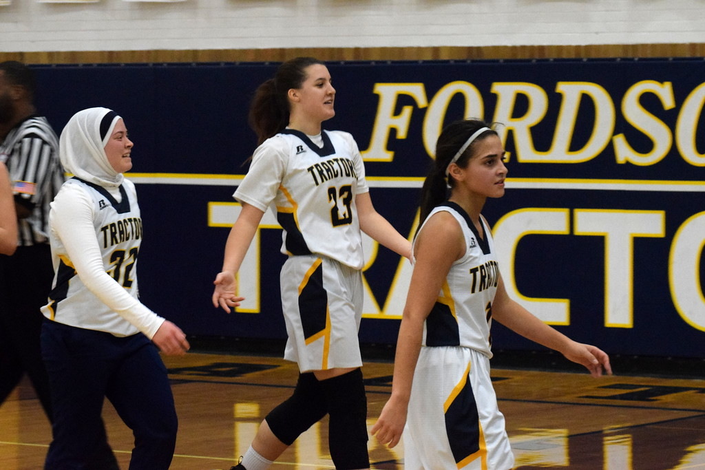 . Fordson welcomed in Edsel Ford on Friday night and defeated the Thunderbirds by a score of 45-20. Photo by Frank Wladyslawski - Press & Guide