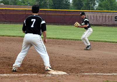 Edsel Ford took on Woodhaven in the Division 1, Region 4 semifinals on Saturday at Southgate Anderson and fell by a score of 9-2. Photo by Frank Wladyslawski – The Press & Guide