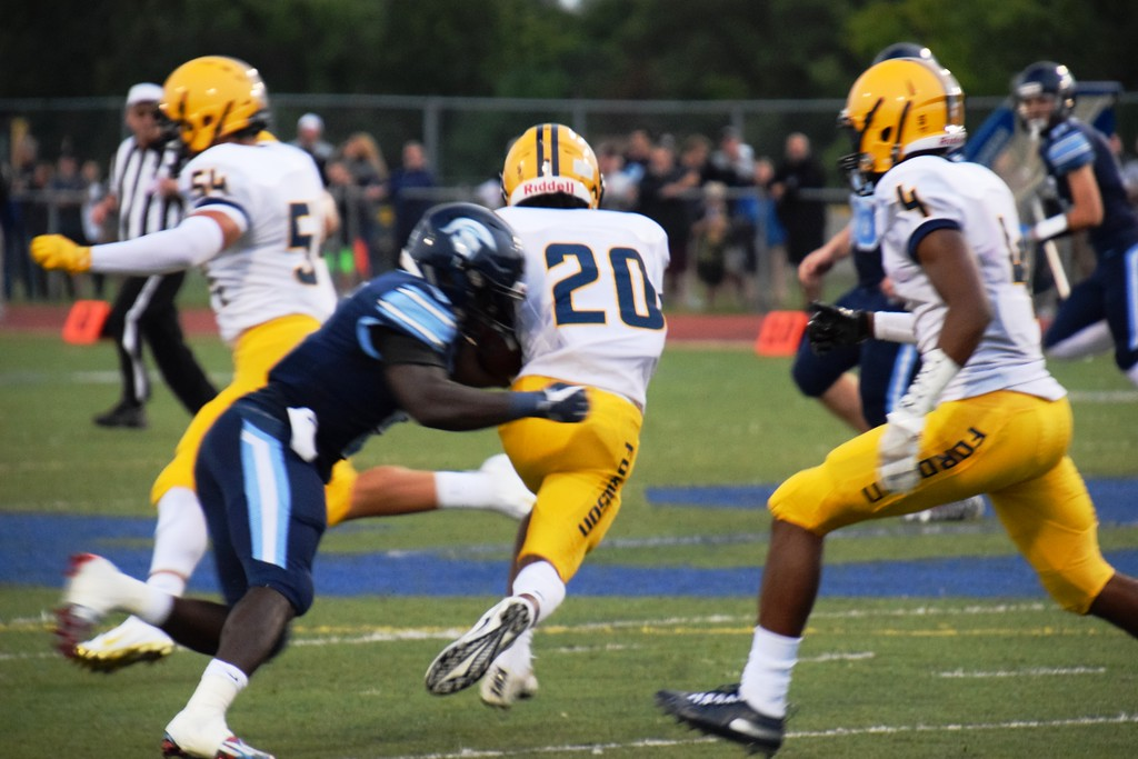. Fordson went on the road on Friday night and defeated Livonia Stevenson by a score of 45-14. The Tractors improved to 3-0 overall and 2-0 in the KLAA East. Alex Muller - For Digital First Media