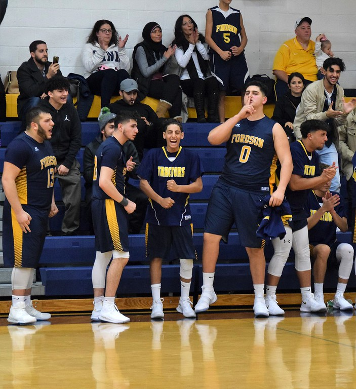 . Annapolis welcomed in Fordson on Tuesday night and held on for a 44-42 win in overtime over the Tractors. It was the season opener for both teams. Photo by Alex Muller - For The News-Herald
