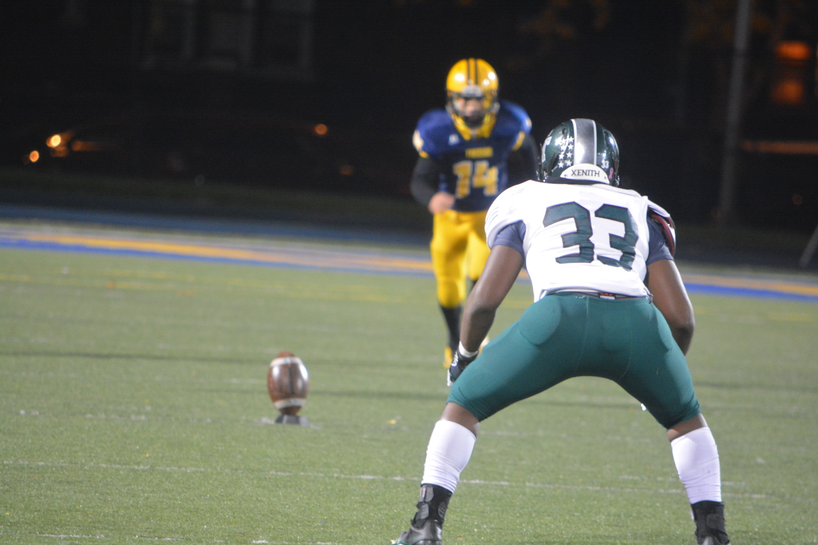 Fordson welcomed in Detroit Cass Tech on Friday night and fell by a score of 27-22 in the district title game. Photo by Von Lozon - For the Press & Guide