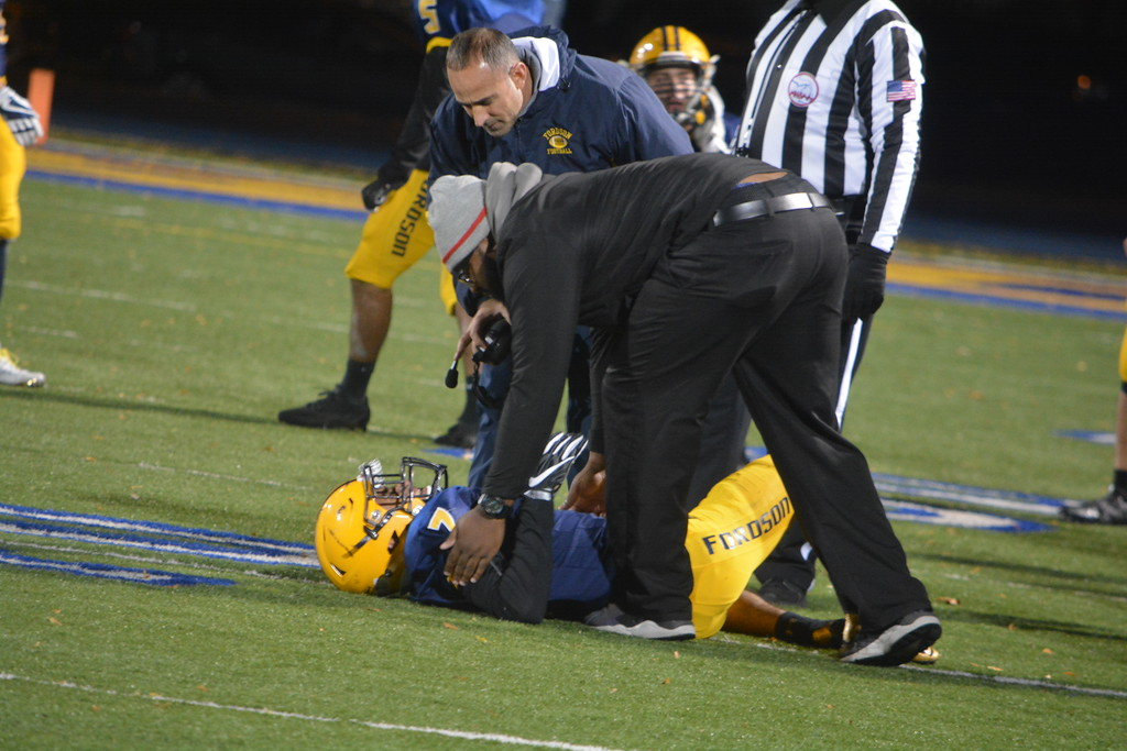 . Fordson welcomed in Detroit Cass Tech on Friday night and fell by a score of 27-22 in the district title game. Photo by Von Lozon - For the Press & Guide
