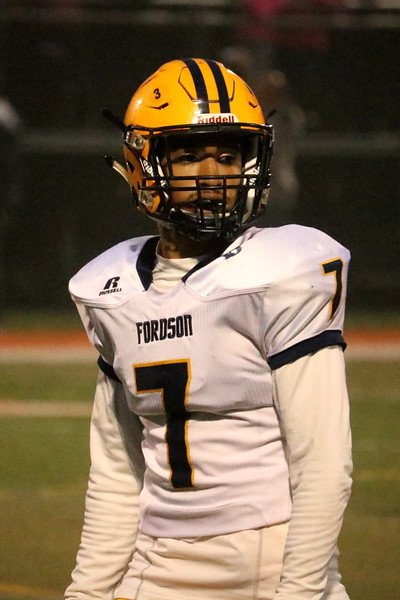 Fordson traveled to Dearborn High on Friday night and defeated the Pioneers 31-12. The Tractors improved to 6-1 and qualified for the playoffs for the 12th year in a row. Photo by Ryan Dickey - For the Press & Guide