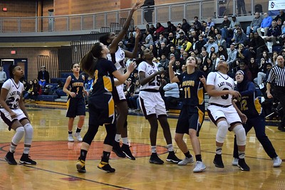 Fordson took on Detroit Renaissance on Tuesday night at Southfield A&T in a Class A,  Region 6 semifinal. The Tractors had a halftime lead but ultimately fell by a score of 58-34 against the Lady Phoenix.  Photo by Alex Muller - For The Press & Guide