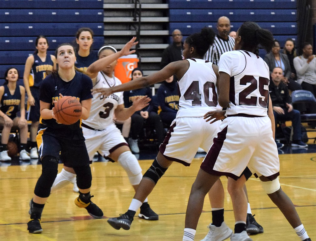 . Fordson took on Detroit Renaissance on Tuesday night at Southfield A&T in a Class A,  Region 6 semifinal. The Tractors had a halftime lead but ultimately fell by a score of 58-34 against the Lady Phoenix.  Photo by Alex Muller - For The Press & Guide