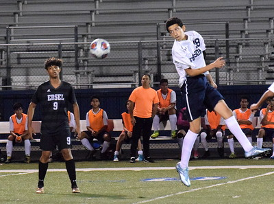 Fordson hosted in-city rival Edsel Ford on Tuesday night and held on for a 3-2 victory over the Thunderbirds. Photo by Frank Wladyslawski - Press & Guide