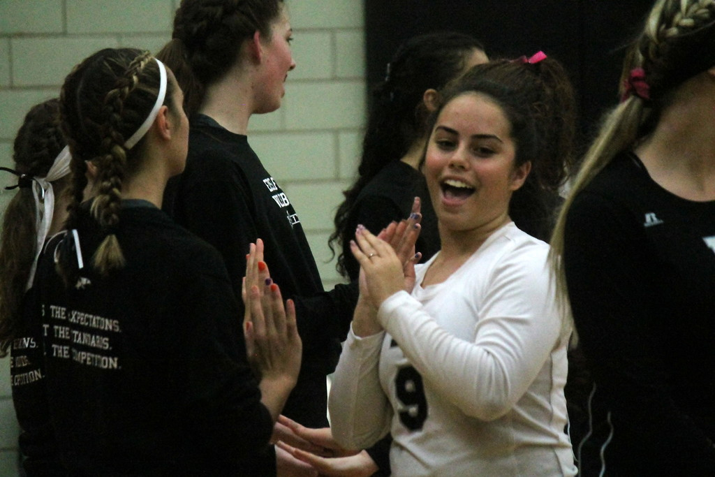 . Edsel Ford hosted Fordson on Tuesday night and swept the Tractors 3-0.  Photo by Terry Jacoby - For the Press & Guide