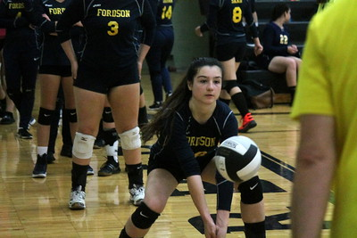 Edsel Ford hosted Fordson on Tuesday night and swept the Tractors 3-0.  Photo by Terry Jacoby - For the Press & Guide