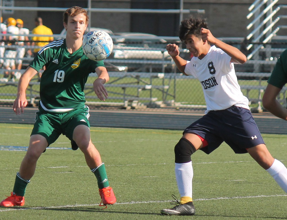 . Fordson welcomed in Farmington Hills Harrison on Tuesday night. A goal inside the final minute from Jacob Honer sent Harrison past Fordson by a score of 3-2.  Photo by Terry Jacoby - For Digital First Media