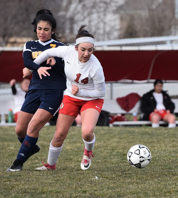 . New Boston Huron welcomed Dearborn Fordson on Tuesday afternoon and defeated the Tractors by a score of 8-0. Photo by Alex Franzen - For Digital First Media