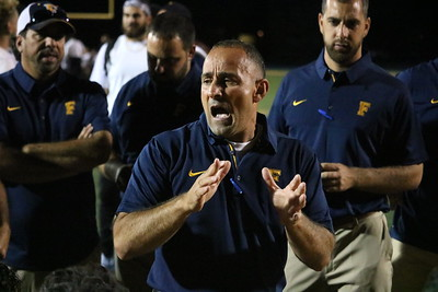 Fordson welcomed in Plymouth on Friday night for Week 1 of the football season. The Tractors went on to a 28-14 victory over the Wildcats. Photo by Ryan Dickey - For the Press & Guide