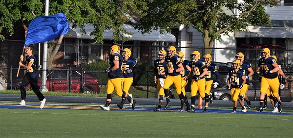 Fordson hosted Romulus on Thursday night and defeated the Eagles by a score of 41-6. Photo by Alex Muller - For the Press & Guide