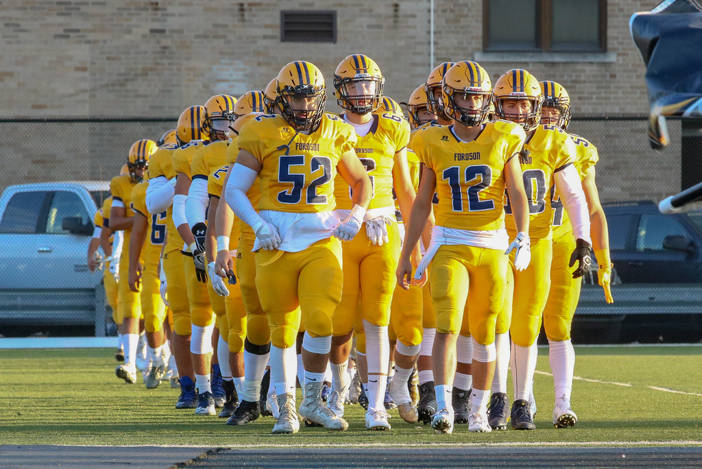 . Fordson welcomed in Westland John Glenn on Friday night and rolled to a 49-28 victory. The Tractors improved to 5-0 overall and 4-0 in the KLAA East. Jack VanAssche - Digital First Media