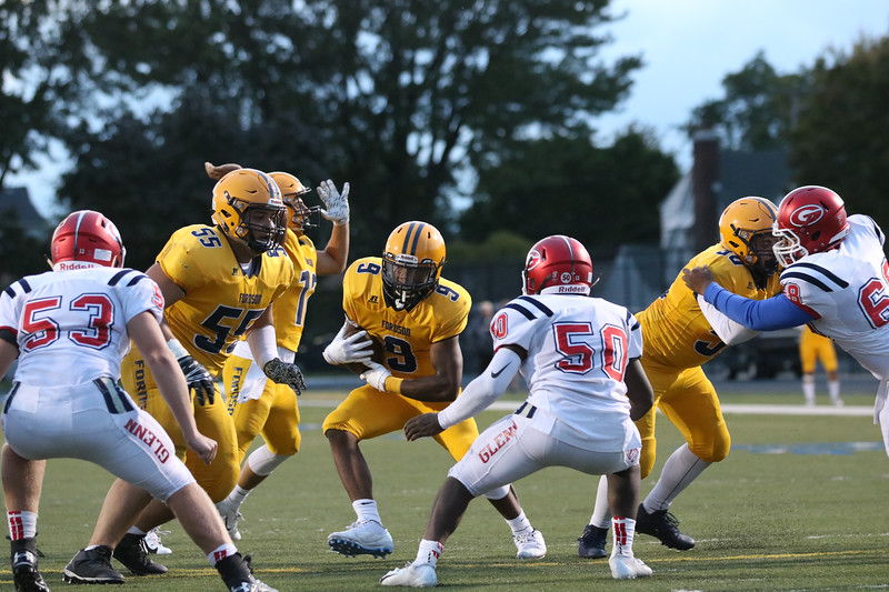 Fordson welcomed in Westland John Glenn on Friday night and rolled to a 49-28 victory. The Tractors improved to 5-0 overall and 4-0 in the KLAA East. Jack VanAssche - Digital First Media