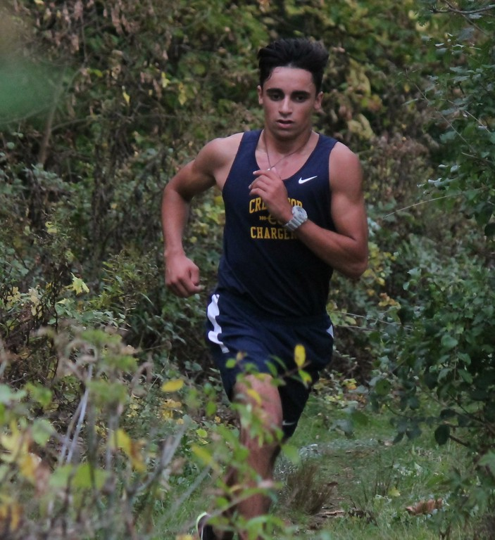 . Local teams headed to Wallaceville Park for WWAC cross country action on Tuesday afternoon. Photo by Terry Jacoby - For the Press & Guide