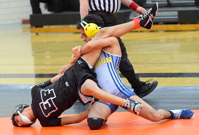 Fordson defeated Edsel Ford 48-32 in the finals of Division 1, District 121 on Wednesday. In the semifinals, Fordson knocked off Crestwood 61-13 and Edsel beat host Dearborn High 42-33. Photo by Frank Wladyslawski - Press & Guide