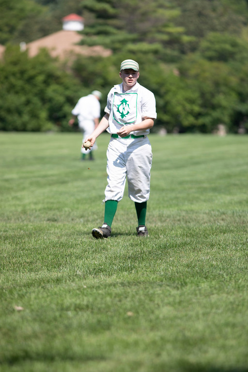. A dozen teams from multiple states got together to play for the World Tournament of Historic Base Ball at the Greenfield Village over the weekend.  The games were all played by 1867 rules, when it was was still written as two words, and the game was played vastly differently. Joshua Tufts - For The Press & Guide