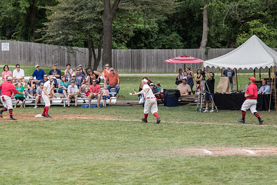 The 14th Annual World Tournament of Historic Base Ball was held August 13-14, 2016 at Greenfield Village. Twelve teams competed, with the Greenfield Village Lah-De-Dahs emerging as champions. Photo by Debbie Malyn for the Press & Guide.
