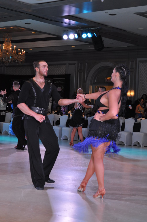 . Lights, heels, sparkles, fringe, and impeccable footwork turned The Henry Hotel into an energetic ballroom affair April 3 to 7 at the 18th annual Michigan Dance Challenge. Karen Hain -- For The Press & Guide