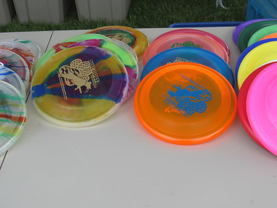 Disc Dogs of Michigan held Frisbee competitions for canines throughout the day at the Mutt Strut.