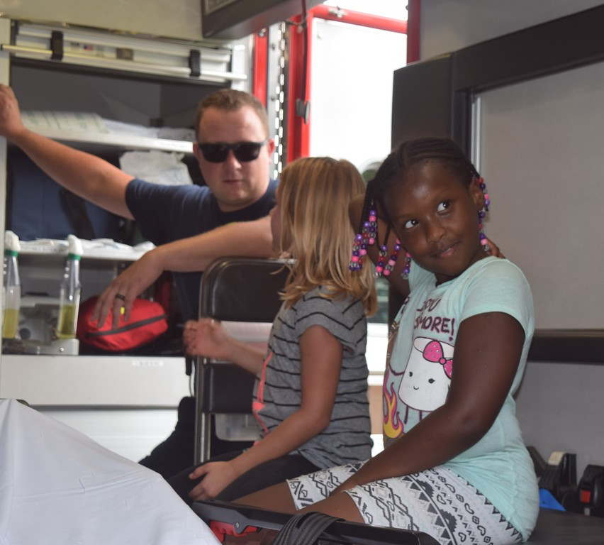 . The Dearborn Heights Police and Fire Departments held their annual National Night Out on Crime event Aug. 7 to increase awareness of crime prevention programs, strengthen neighborhood spirit and community-police partnerships and send a message to criminals that neighborhoods are working with police to fight against crime.