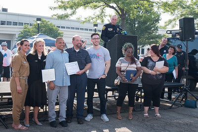 Citizens received awards for Outstanding Contributions to the Community. Photo by Debbie Malyn for the Press & Guide.